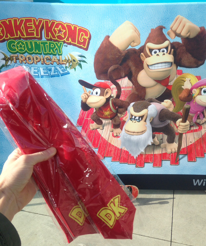 Donkey Kong Tropical Freeze Vancouver Event