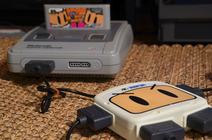 SNES Bomberman 4 Player Multitap