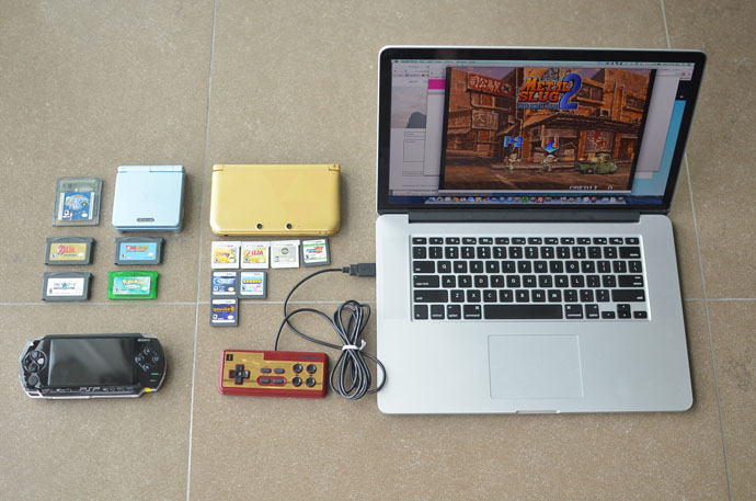 Portable Retro Video Games