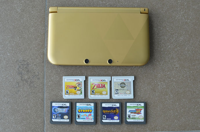 Nintendo 3DS Zelda Gold Edition